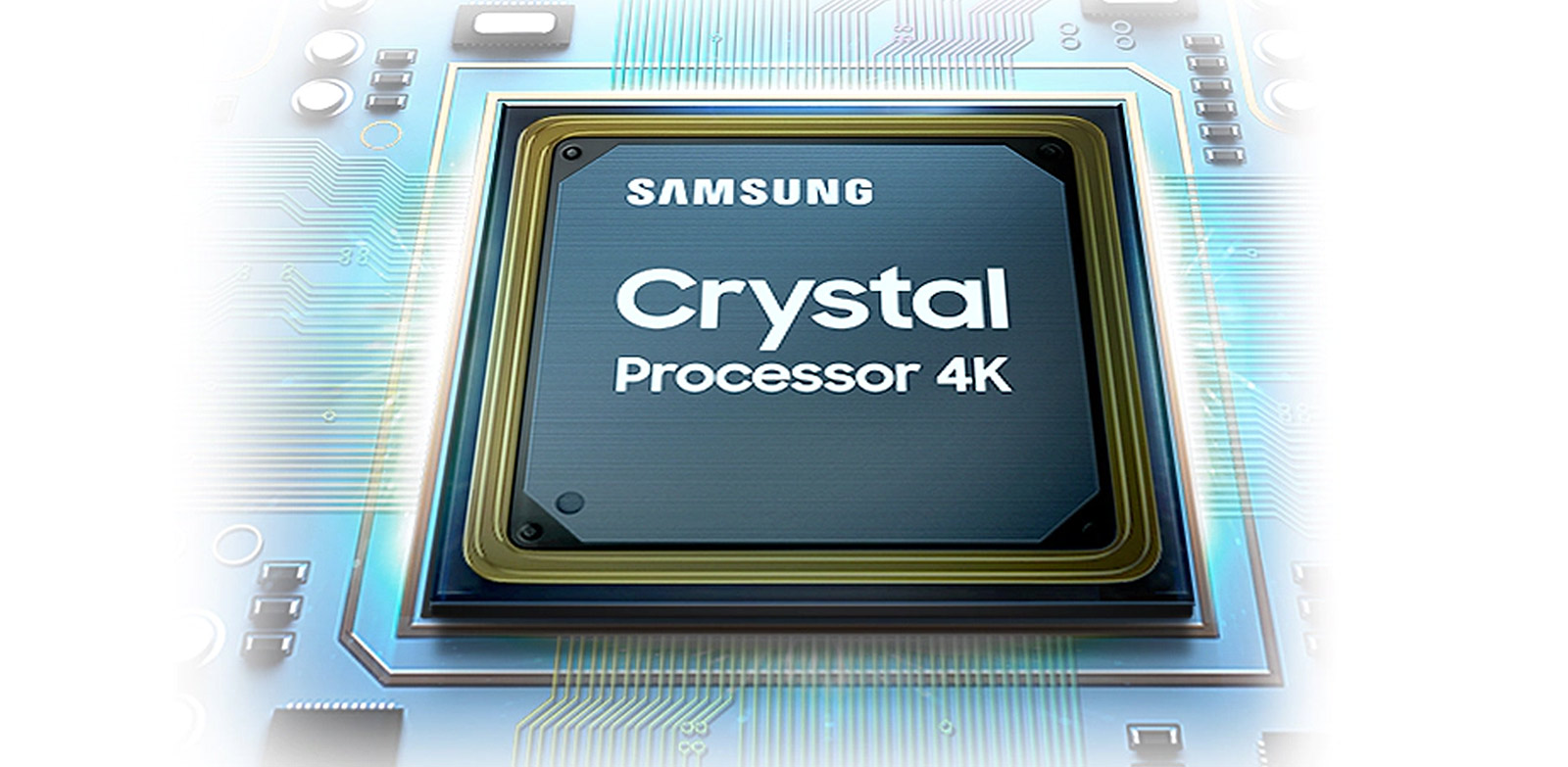 Feel lifelike shade of color as intended in powerful 4K Crystal Processor 4K-ExtensionImages_appliance_Modular
