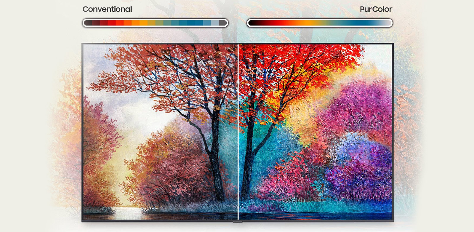 Fine tuned color for a vibrant, lifelike picture PurColor -Extension-Images_appliance_Modular