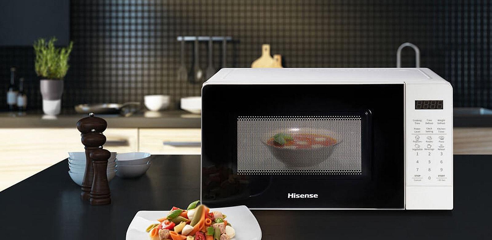 Hisense - 20L White - Microwave  - H20MOWS3