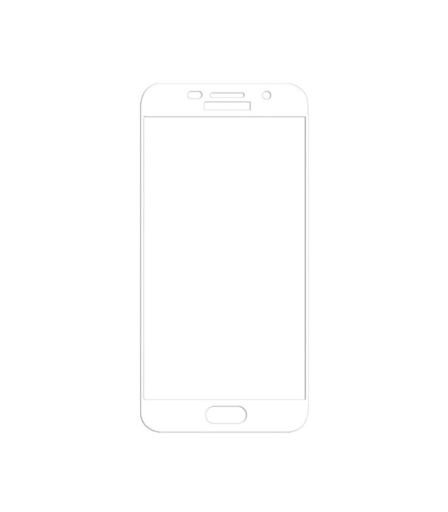 Young Pioneer - Tempered Glass Screen Protector for Galaxy A7 2017 - White